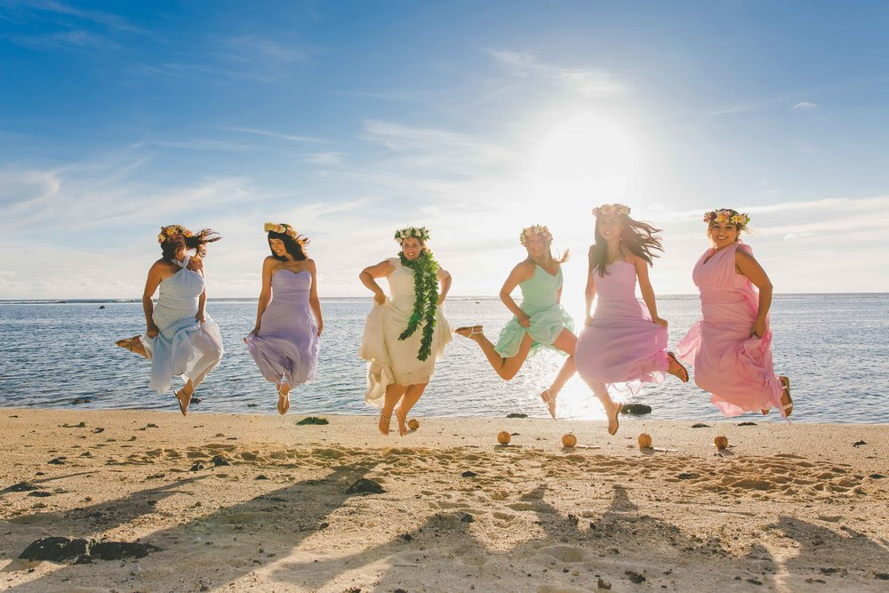 adventure wedding cook islands