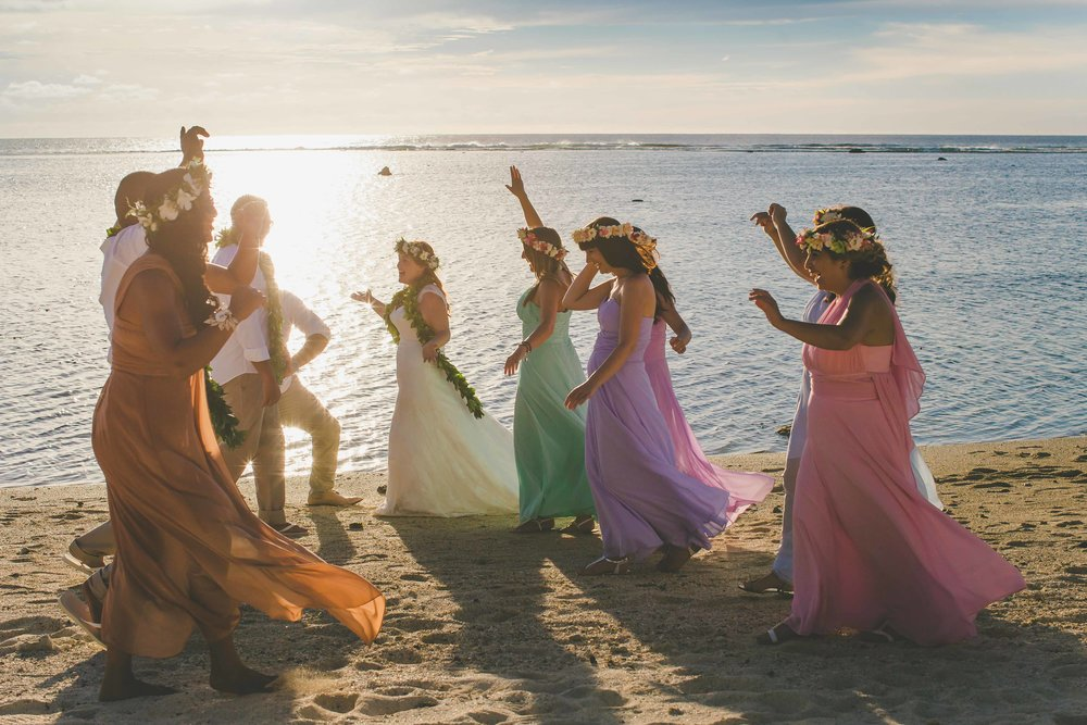 simple wedding rarotonga
