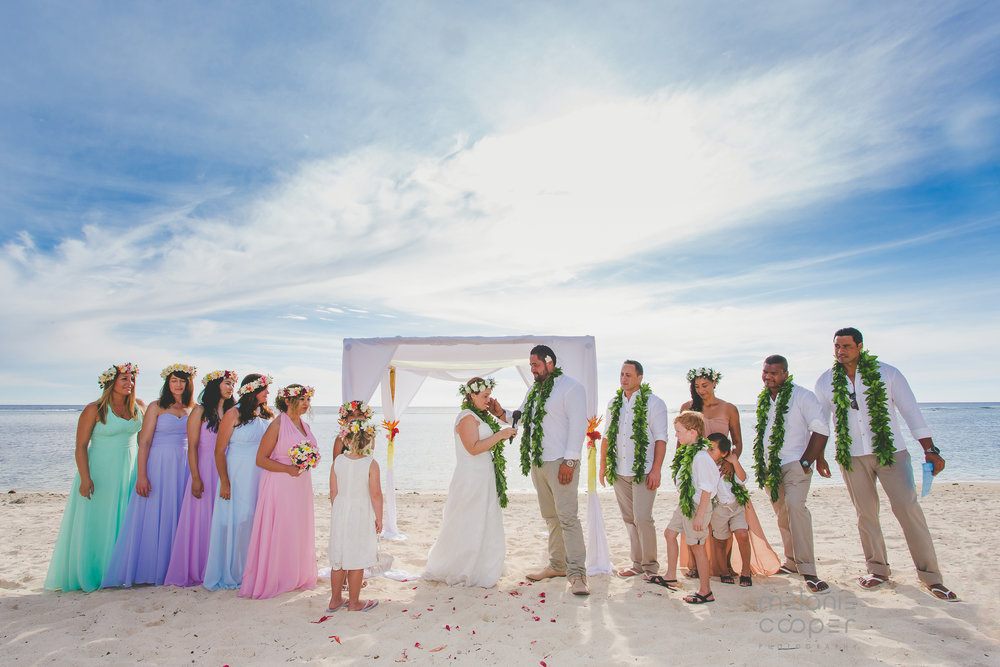 plan your own wedding rarotonga