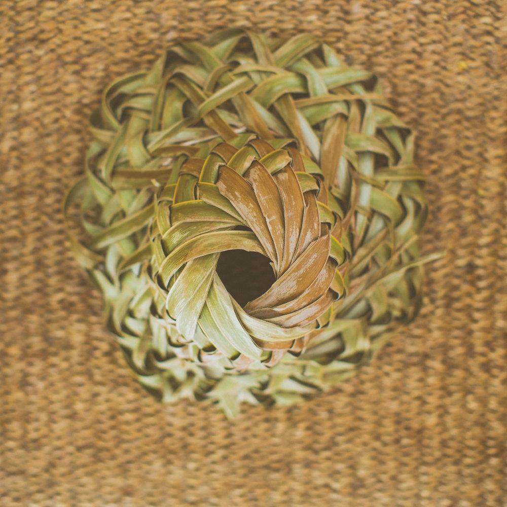 island flax hat