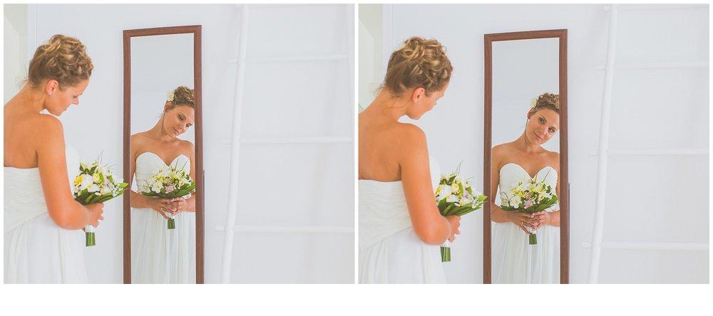 beautiful tropical bride