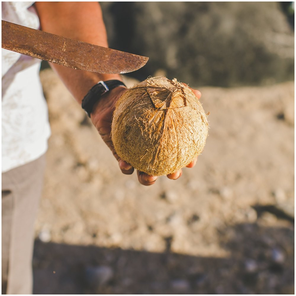 coconut ceremony cook islands