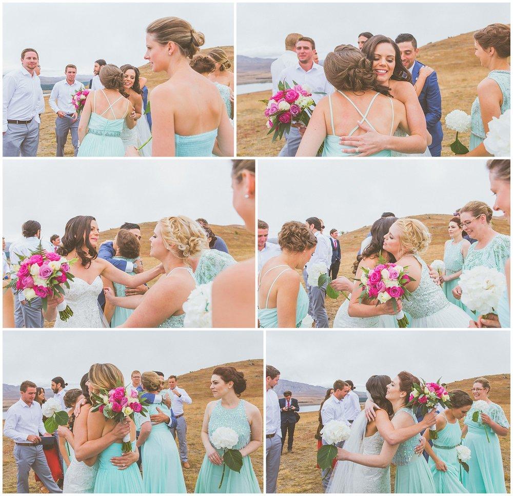 Wedding Party Lake Tekapo New Zealand