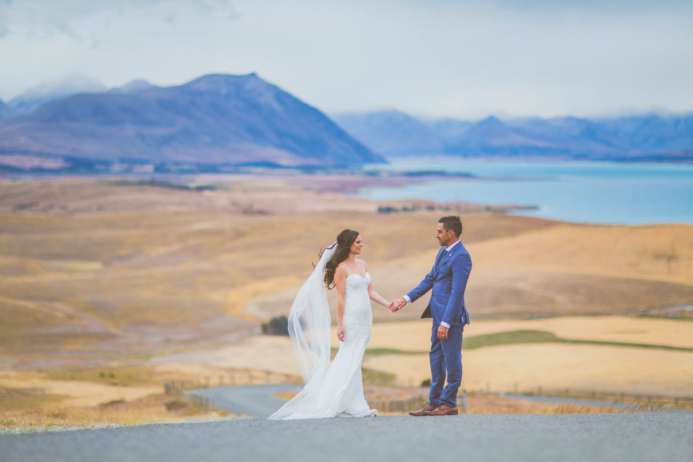 Lake Tekapo Summer Wedding