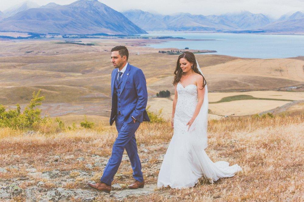 makenzie region south island new zealand wedding
