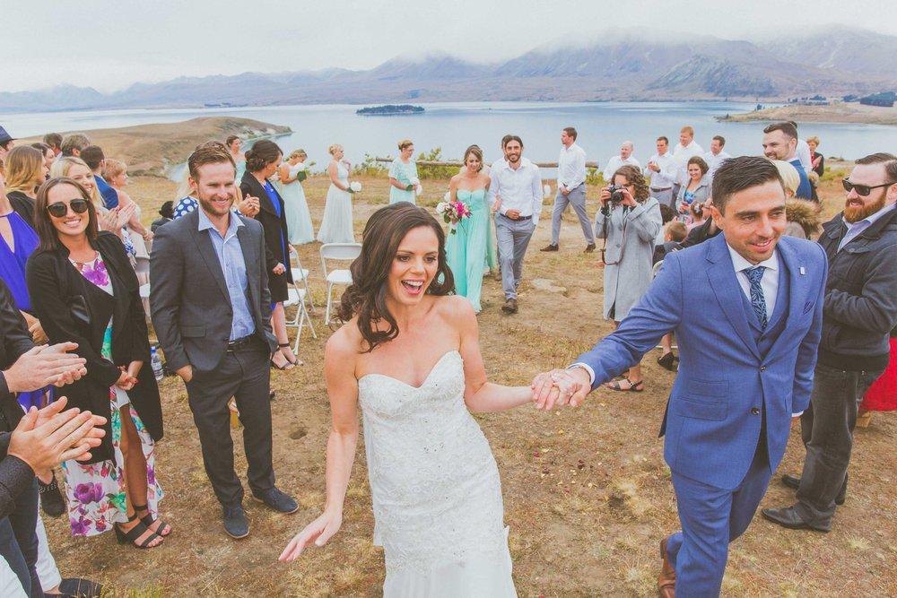 Air New Zealand South Island Wedding