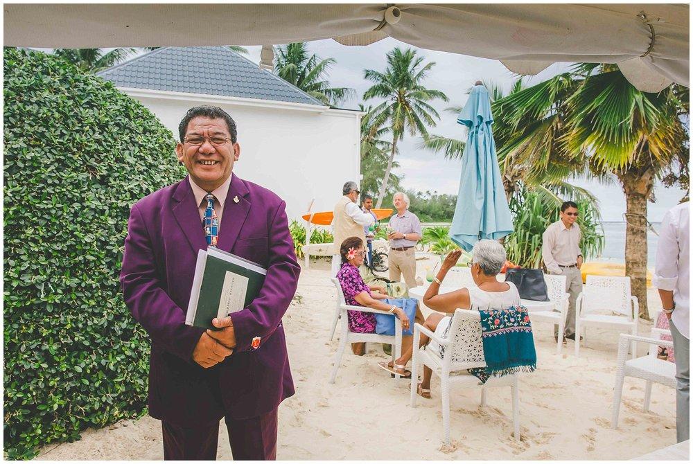 wedding venue rarotonga