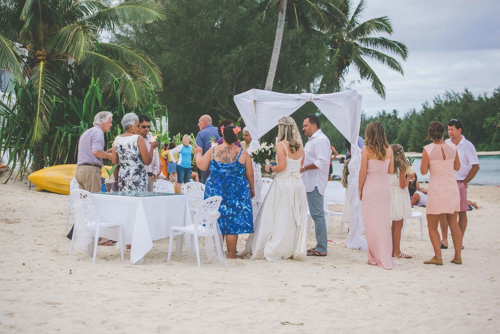 rarotonga wedding photography packages