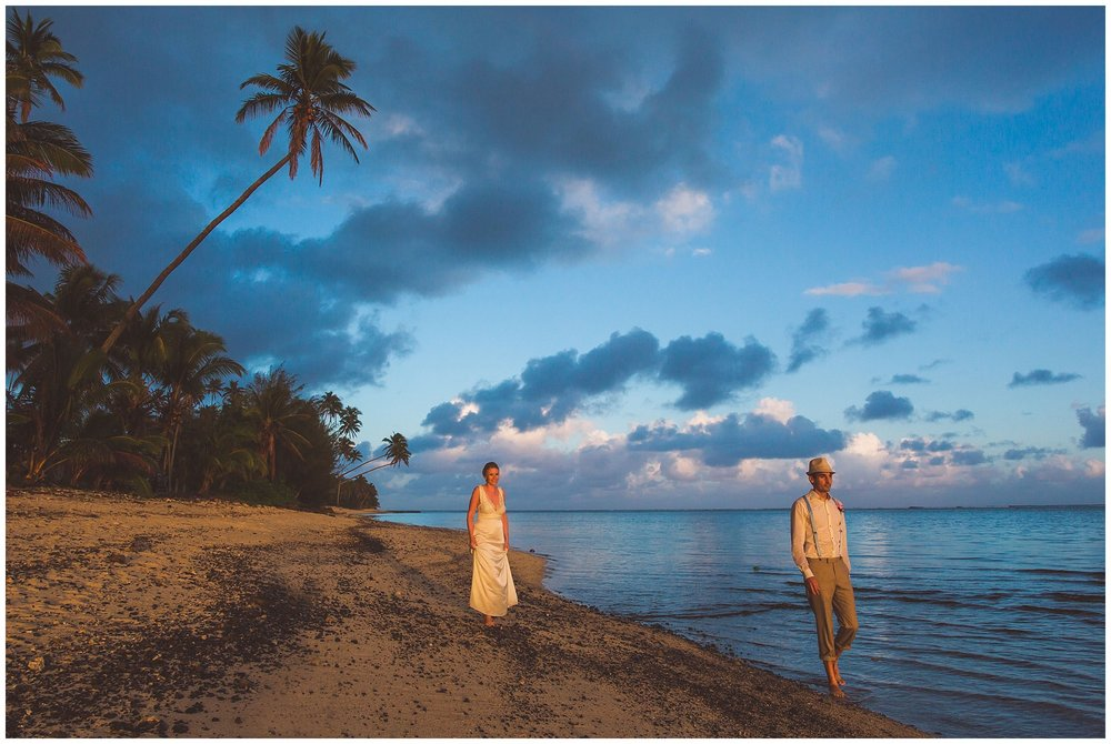 best rarotongan wedding photographer