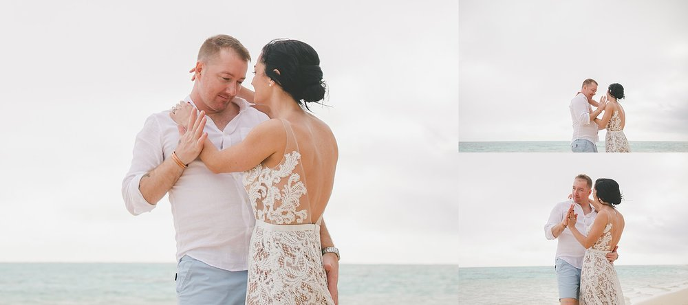 relaxed rarotonga wedding fun