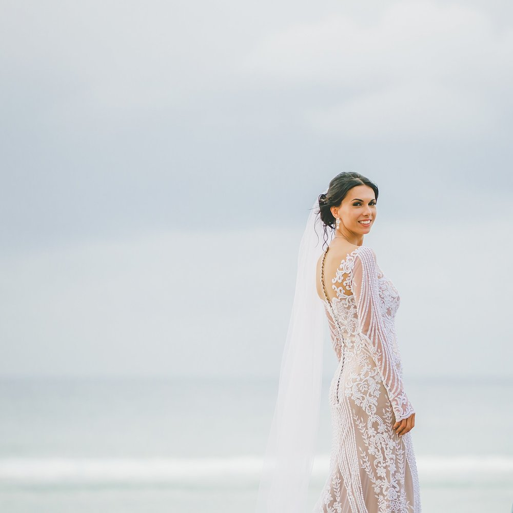lace wedding dress cook islands