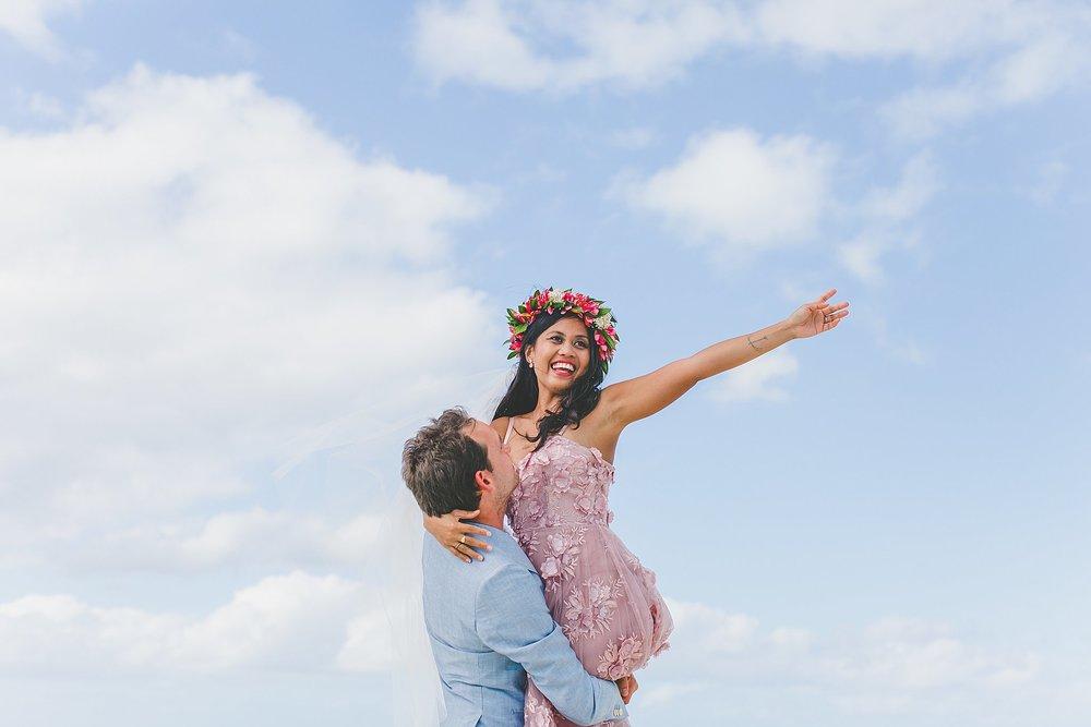 aitutaki lagoon wedding