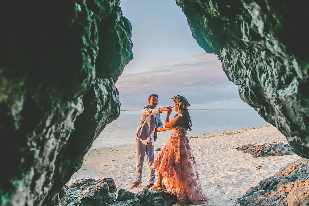 professional wedding photographer cook islands