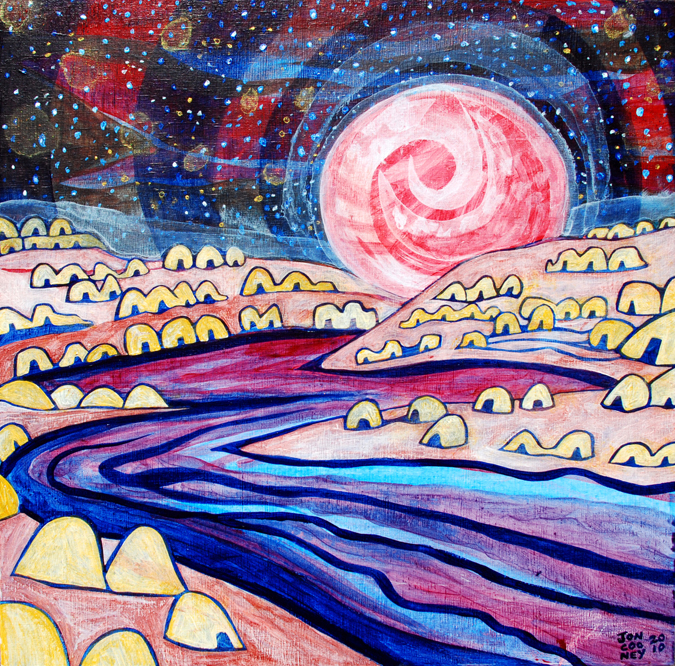 """Pink Moon"""