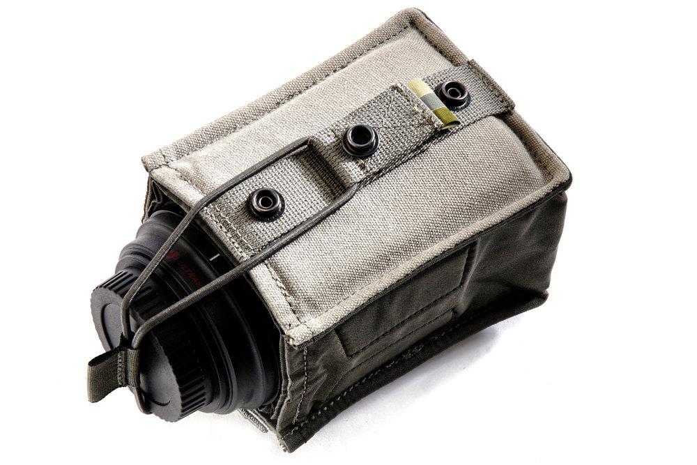 Removable Flap - Secure Bungie