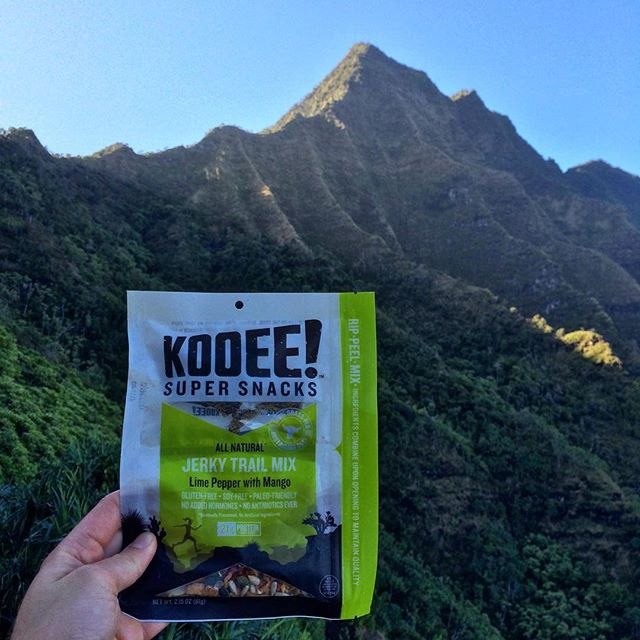 Early morning magic in Kauai. Who's hitting the trails bright and early this weekend? #wheredoyoukooee #kalalautrail #earlybirdgetsthejerky