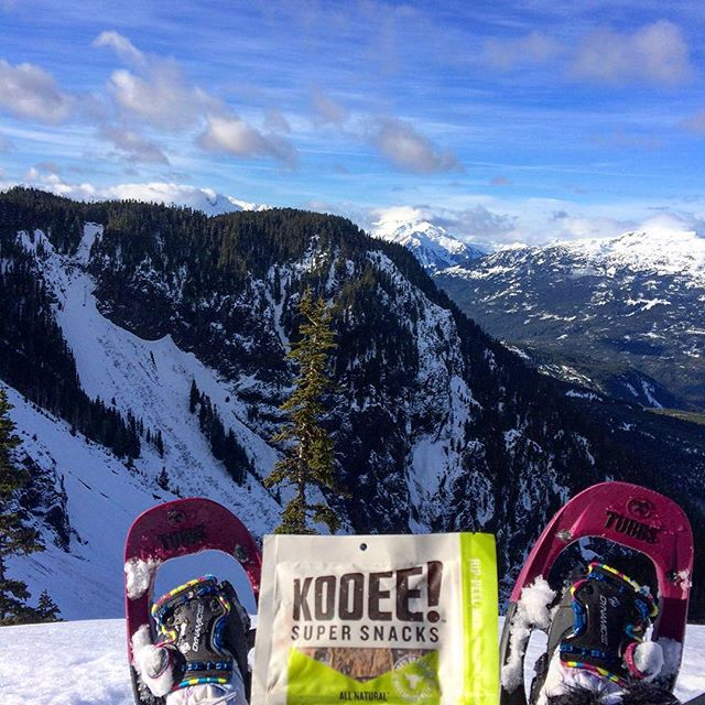A view that doesn't disappoint. Thanks for sharing Brendan! #wheredoyoukooee #snowshoeing #viewfrommyoffice