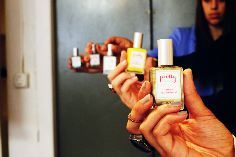 Special Pretty Please Gal Polish just for our Fashion PR Con students!