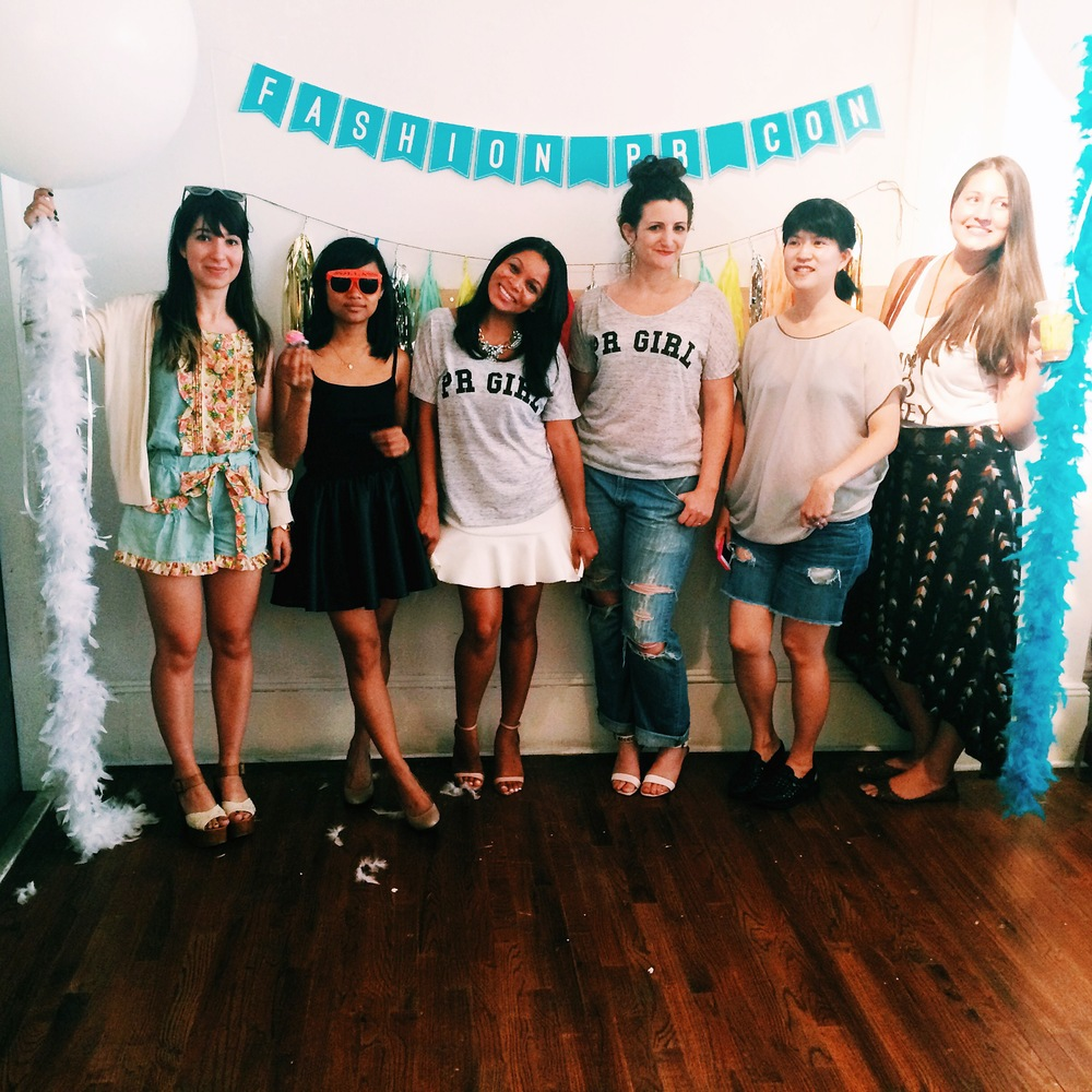 The ladies of Small Girls PR, Danika Daly PR, PR Couture, The Avant Collective, and Rich PR showing some PR Girl love!