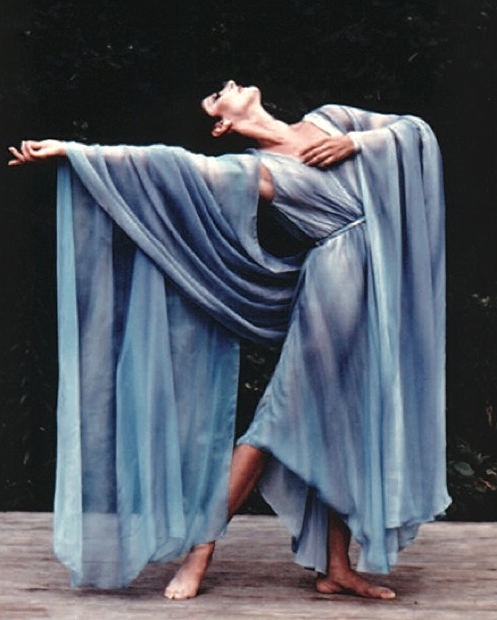 Cynthia Gregory  Brahm's Waltz and Liebestraum  Jacob's Pillow Dance Festival Ruth St Denis, choreographer  Photo: Jack Vartoogian