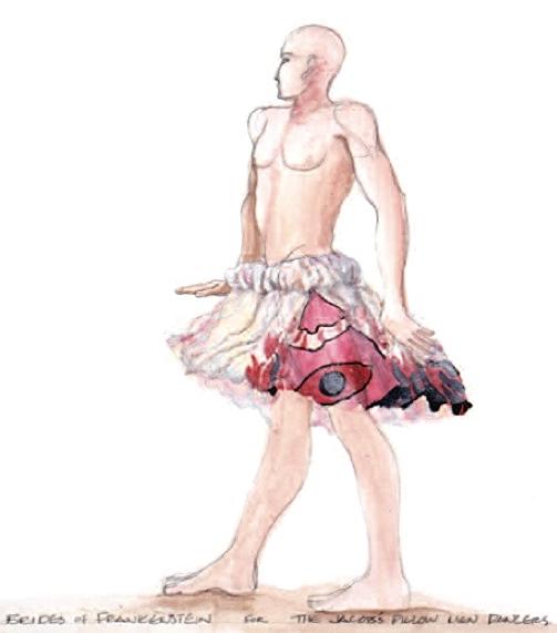 Jacob's Pillow Men Dancers Brides of Frankenstein Rick Darnell, choreographer