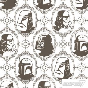 imperial forces wallpaper by Super7, $120 for a single roll