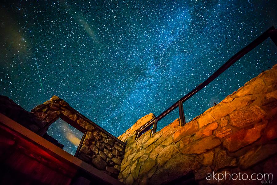 Perseid Meteor Shower Seen from Mount Evans | Colorado