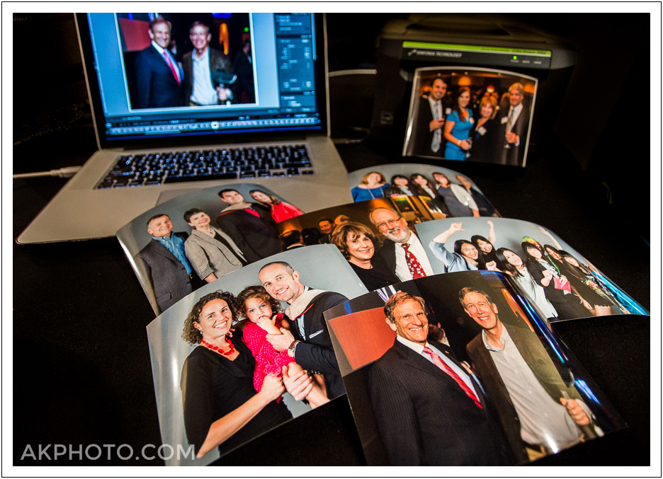 On site photo printing by AKPHOTO is the perfect compliment to your special event, function, graduation, conference or party!