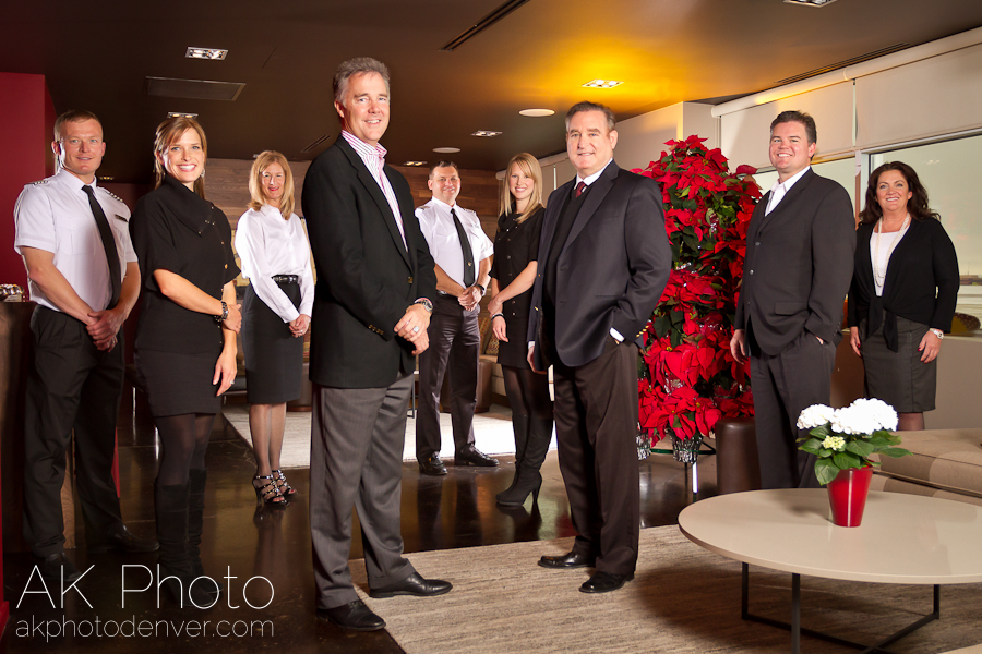 JetLinx Holiday Card Photo :: The Final Composite of Two Exposures