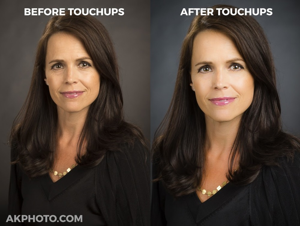 Touchups and Edits for Business and Corporate Headshots (AKPHOTO, Denver)
