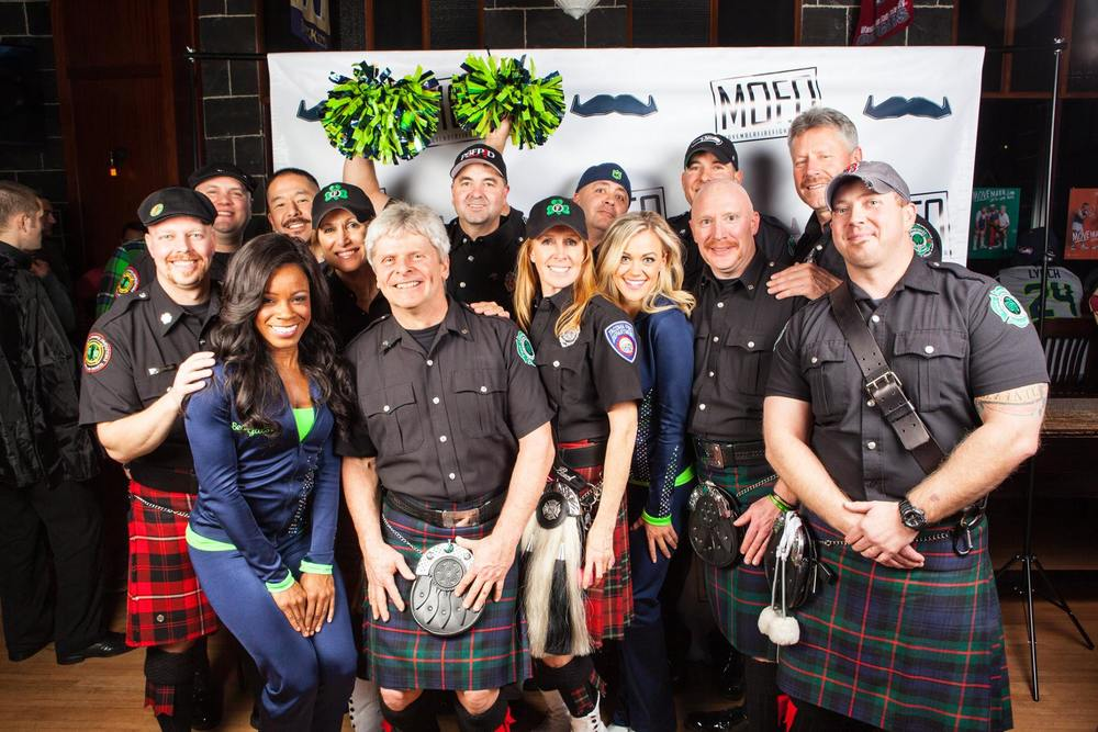 2015 Movember Gala - Members of 3 bands - King County, Snohomish County and Puget Sound, along with a couple SeaGals!!
