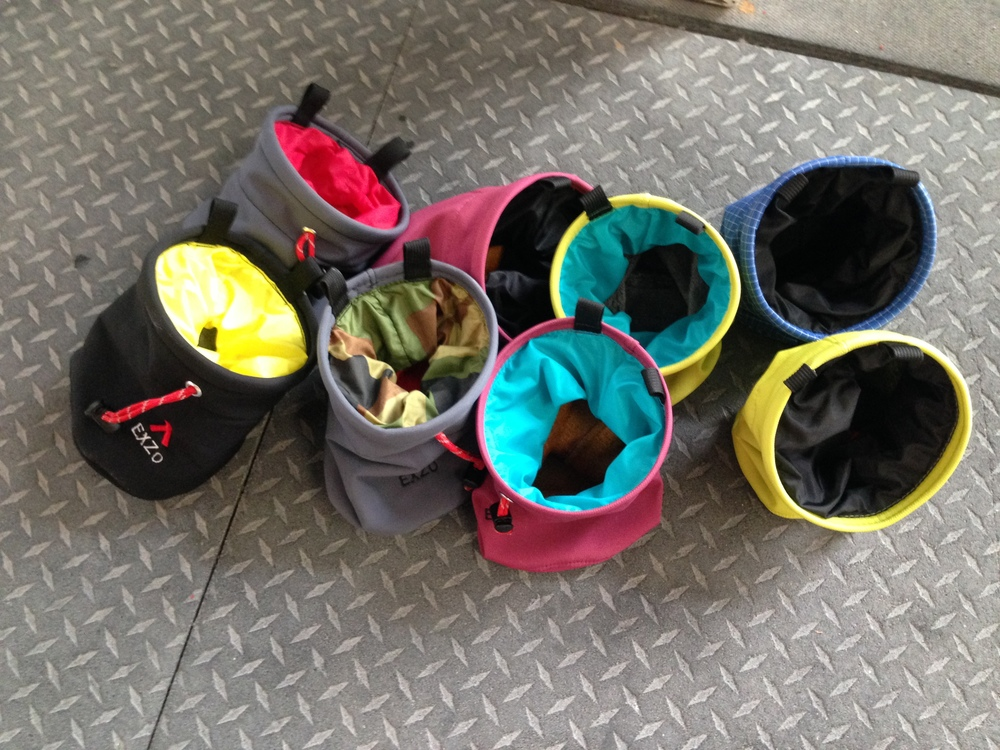 A newly made batch of bags for First Avenue Rocks