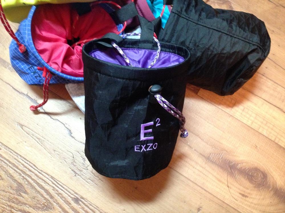 A custom bag for a friend, whose initials are E.E.