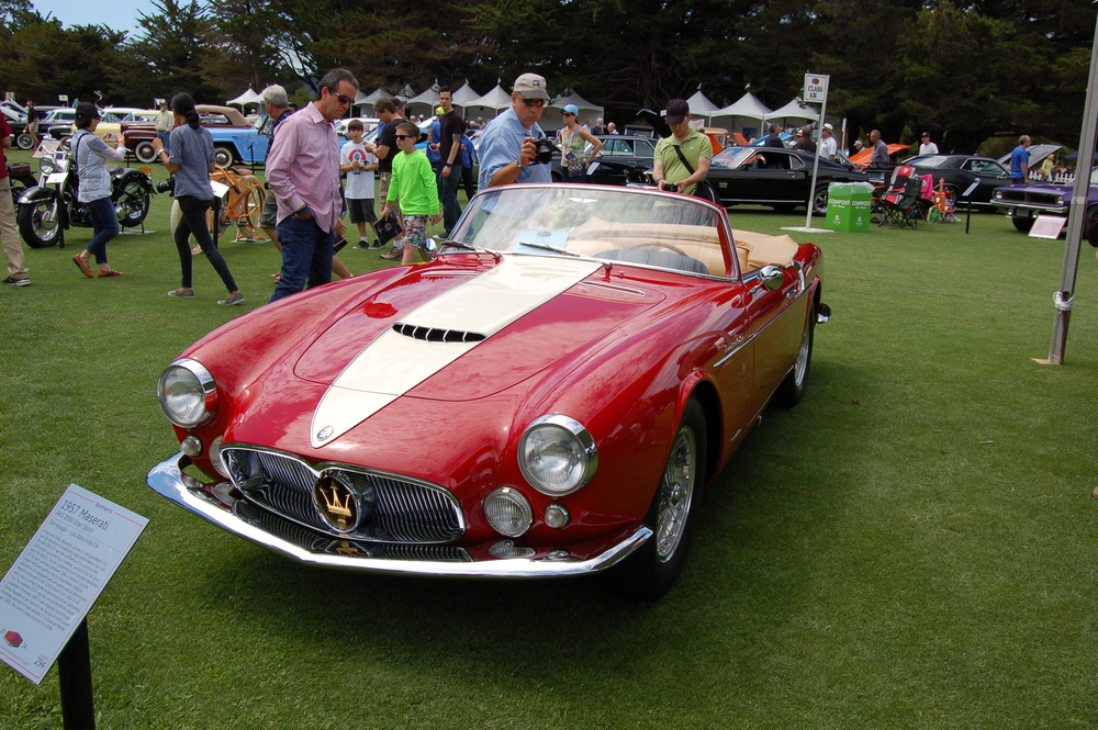 1957 Maserati A6G 2000 Gran Sport. Don't you dare confuse it with an Audi A6.