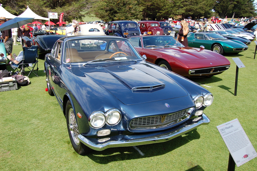 1963 Maserati Sebring. Not to be confused with that Chrysler you rented 5 years ago.