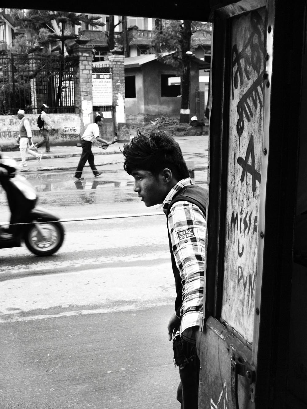 Kathmandu Busboy.