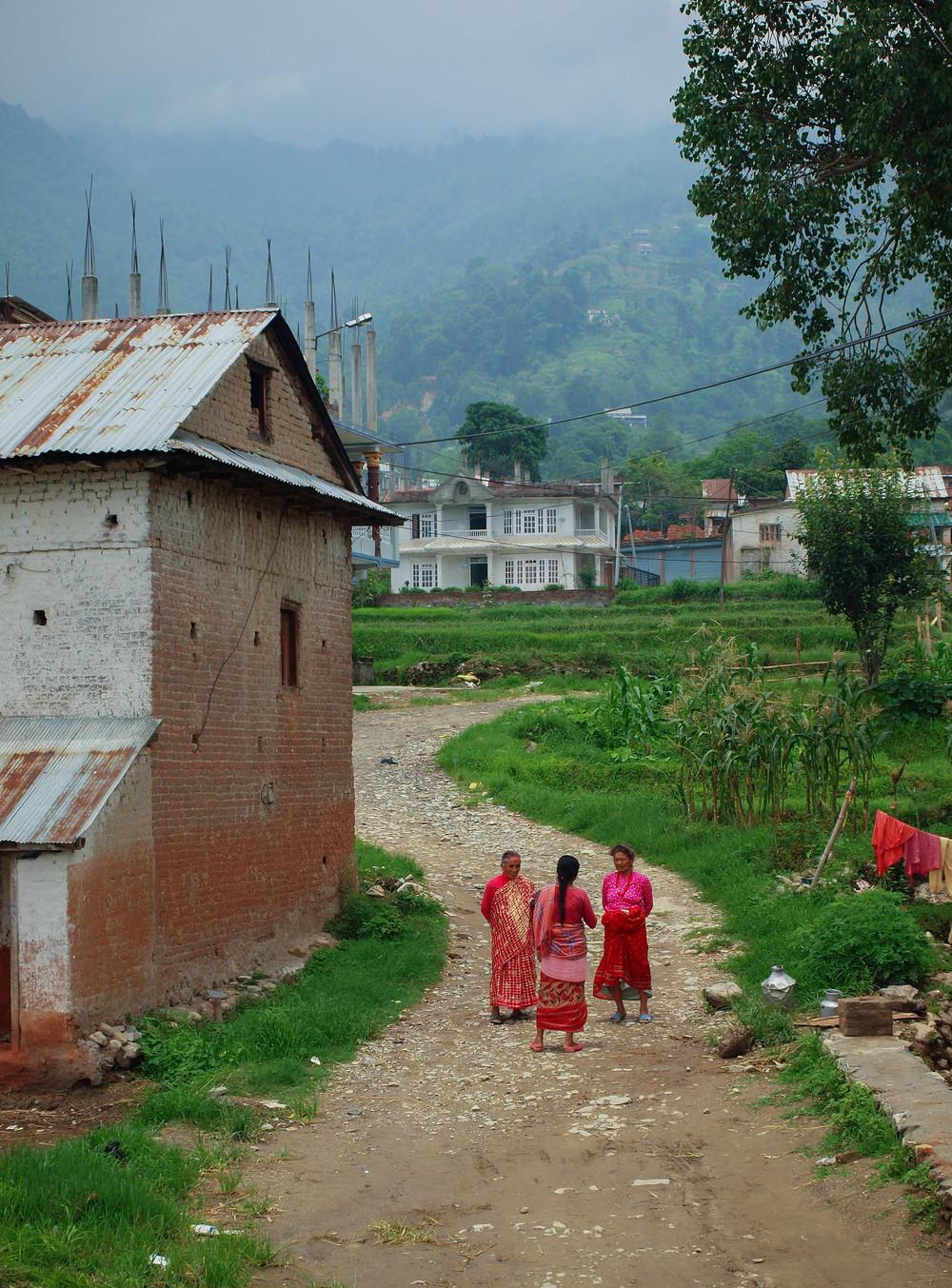 Rural Village Life.