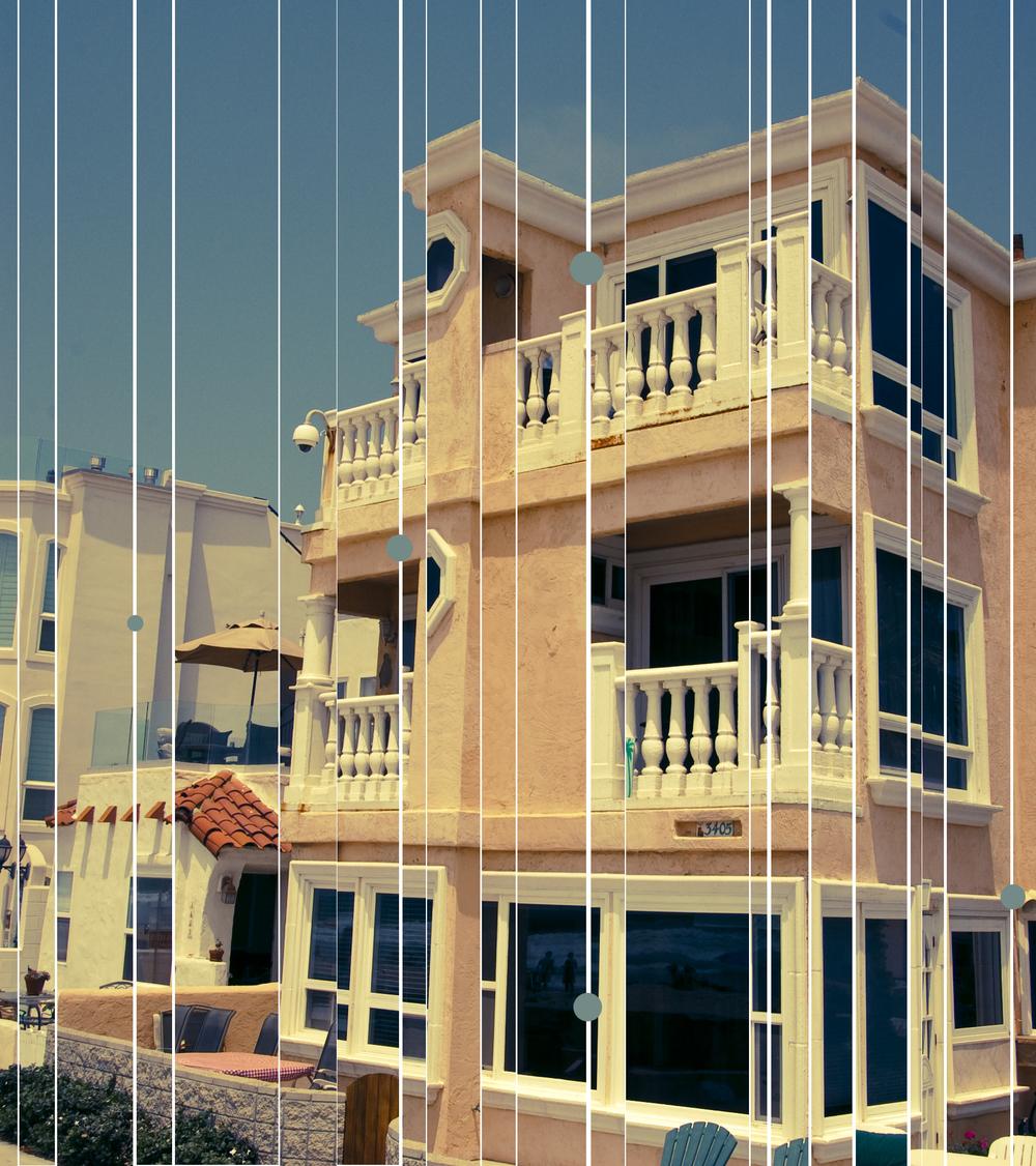 Cali Beach House - Photography/Art Project