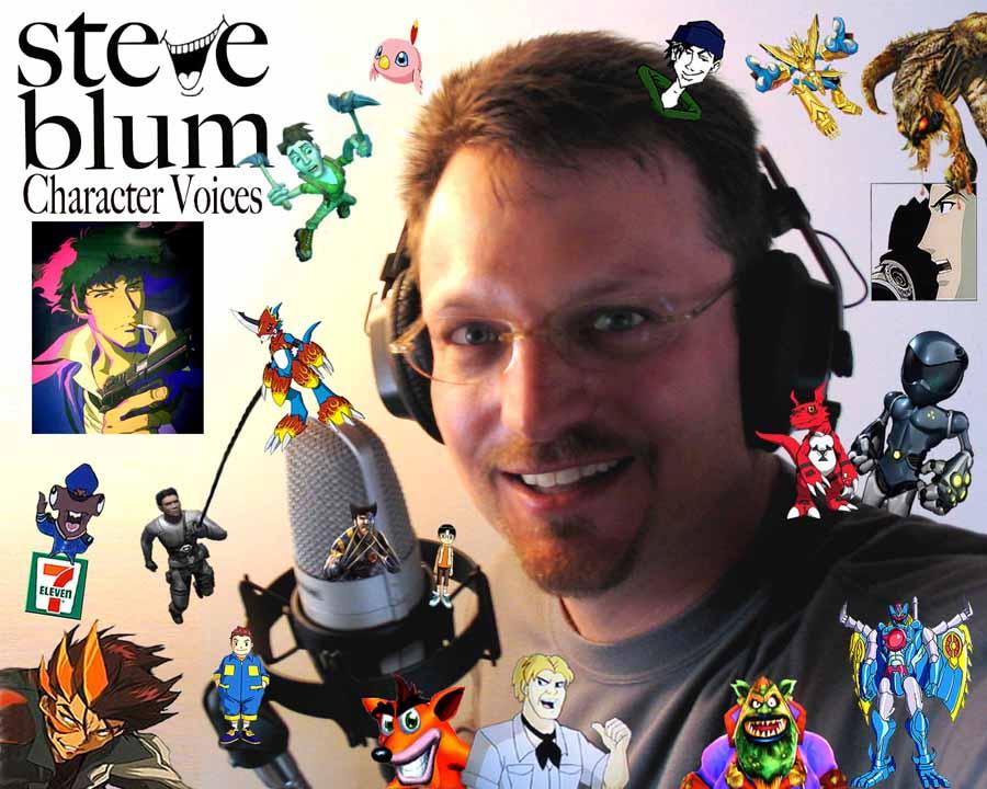 Steve Blum voice actor portrait