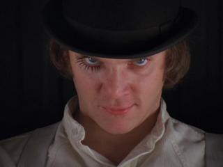 Alex from a Clockwork Orange (Malcolm McDowell)
