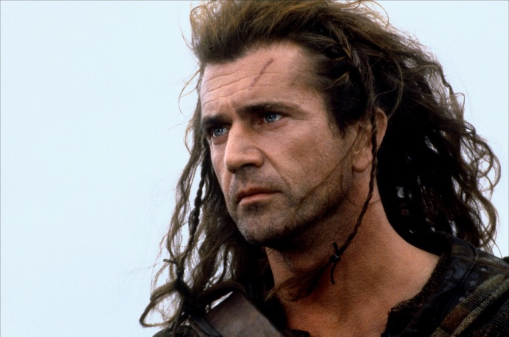 Mel Gibson from Braveheart