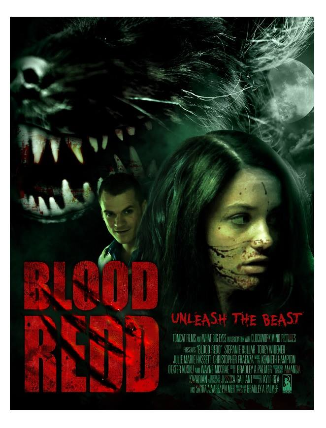 Blood Redd Movie Poster - Kyle Rea Producer