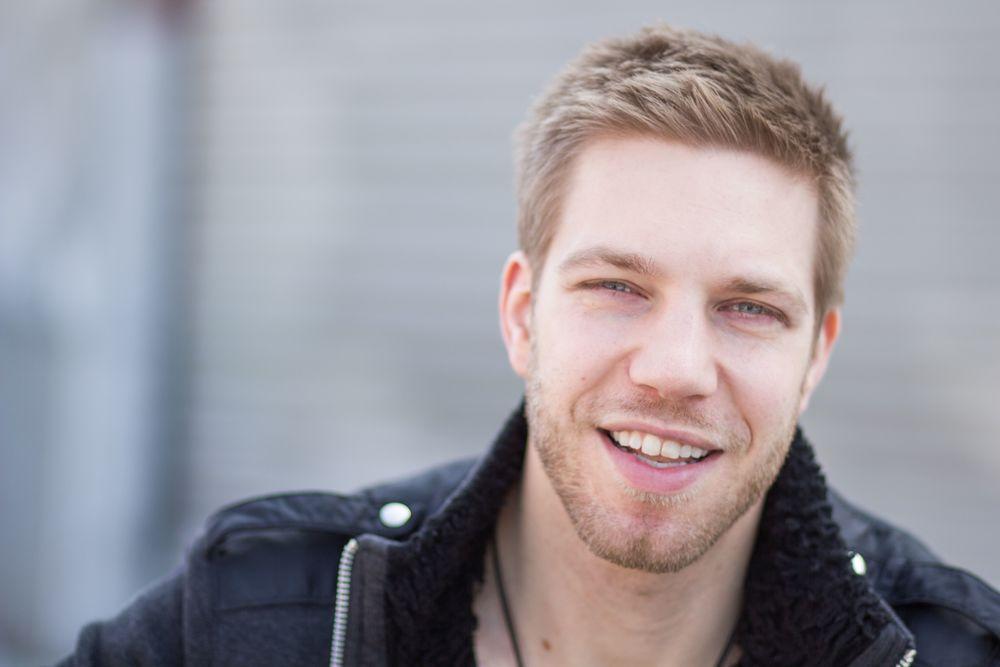 Kyle Rea Smiling Portrait