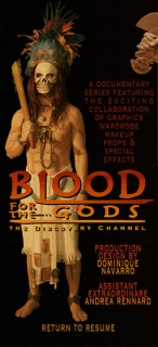 BLOOD FOR THE GODS