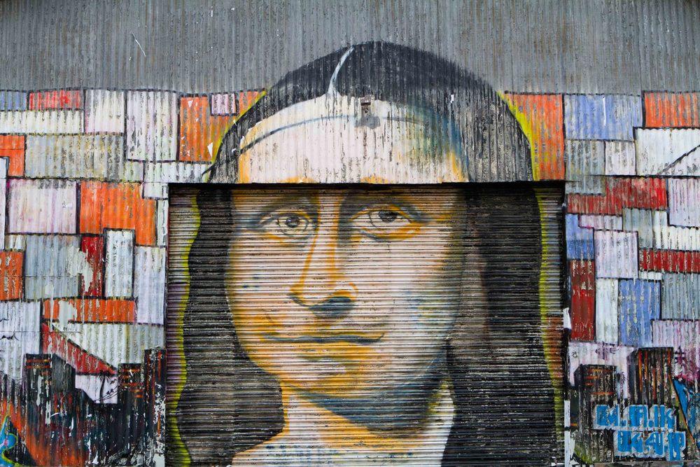 Da Vinci - Street Art - Kyle Rea Photography - cREAtive Castle Studios