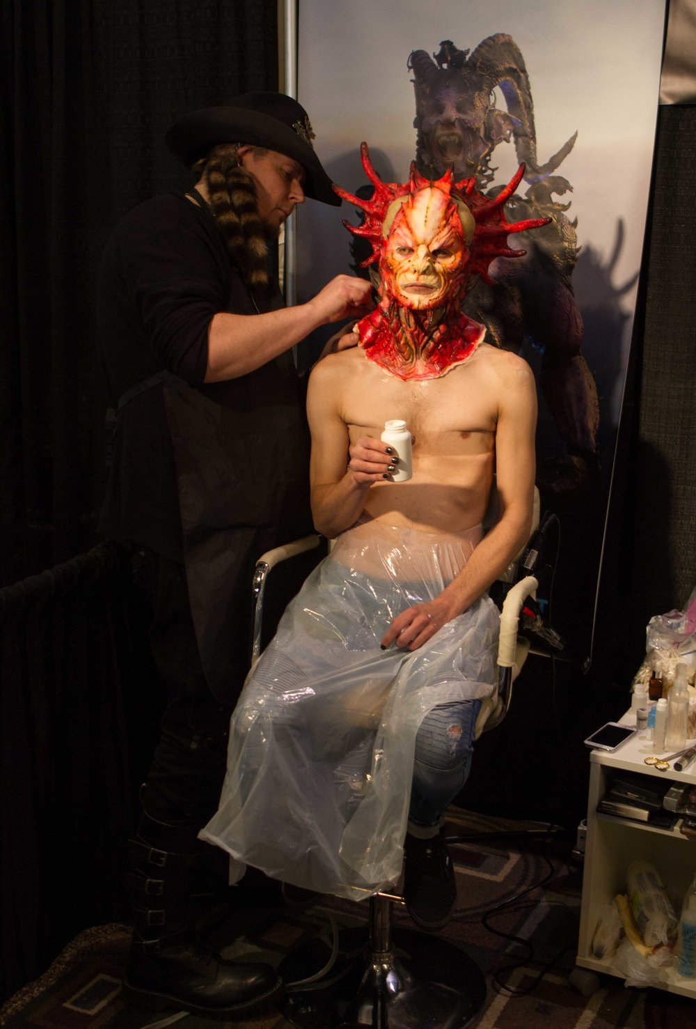 IMATS 2017 - FX Creator Josef Rarach & Vlad Taupesh Fantasy Special Effects Makeup (www.creativecastlestudios.com:fx-creator - www.KyleReaArt.com - www.KyleReaPhotography.com) 35.jpg