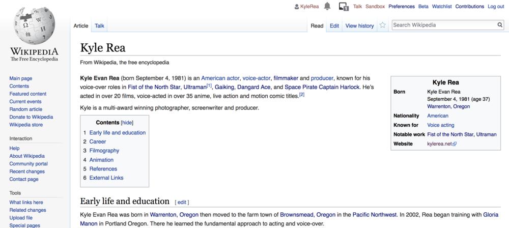 Kyle Rea Wikipedia