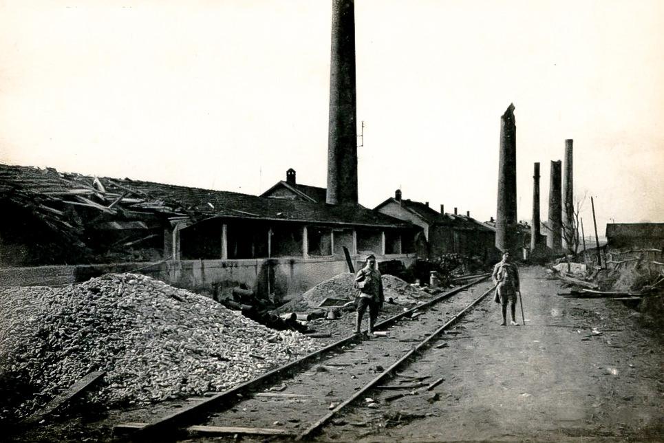 Faiencerie Badonviller Theophile Fenal - Pendant la 1ère guerre