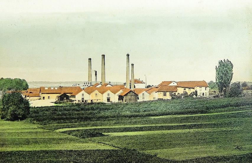 Faiencerie Badonviller - Vue de la manufacture