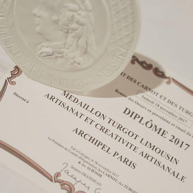 Encourageant pour une première nomination en Artisanat et Créativité artisanale : 2eme prix! #poulidor #illbeback . . . #creativite #artisanat #limoges #turgot #carnot #limousin